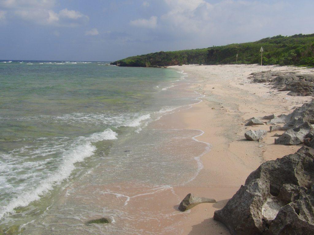 ブドゥマリ浜ビーチ(波照間島)