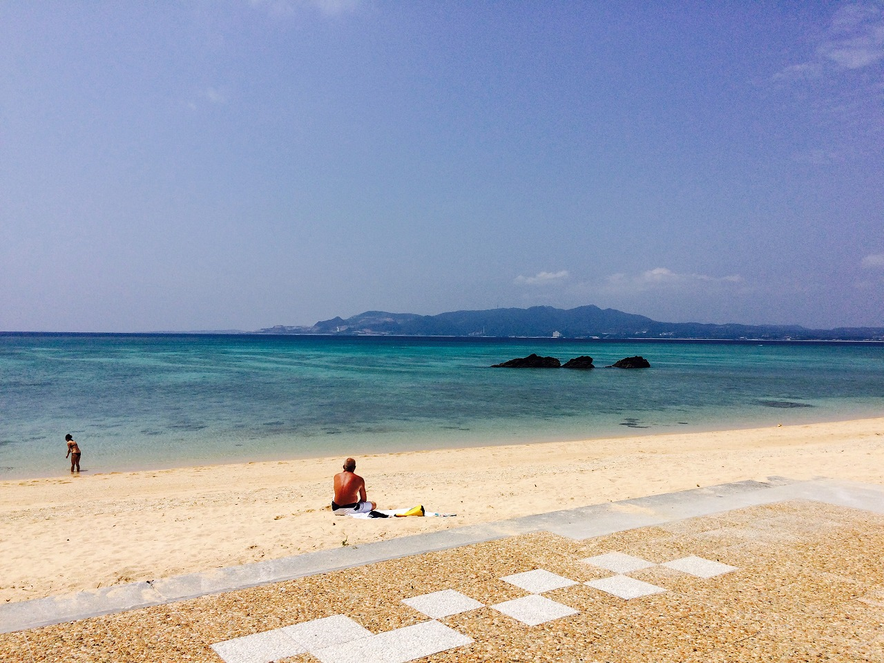 沖縄,本島,幸喜ビーチ,名護市民ビーチ