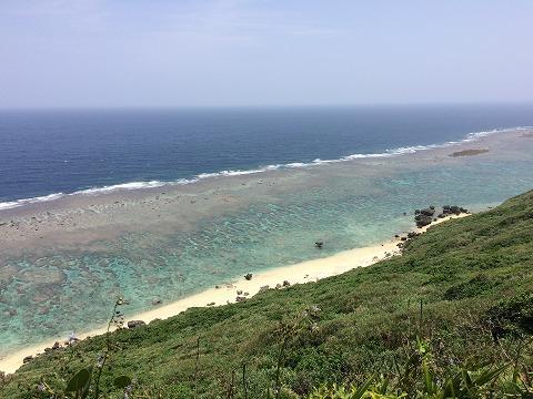 宮古島,展望台,サンゴ