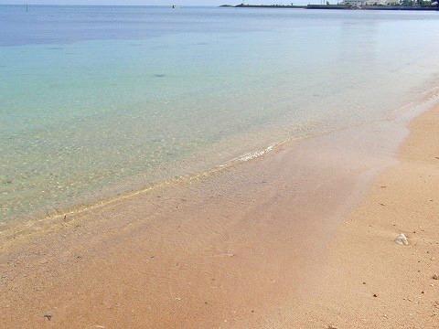 冨着ビーチ(本島北部)