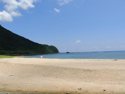 アーラ浜(久米島)