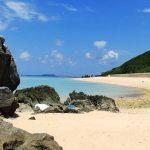呼子浜(渡名喜島)