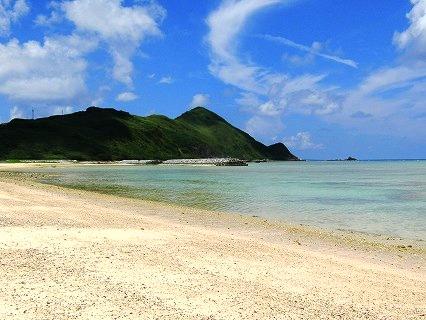 あがり浜(渡名喜島)