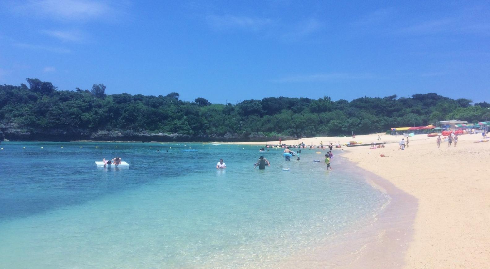 伊計島のおすすめビーチ、伊計ビーチ!駐車場、BBQ、シュノーケリングは?